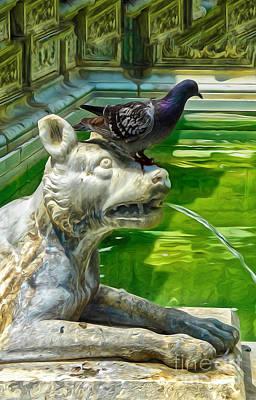 Digital Art - Bird Dog by Gregory Dyer