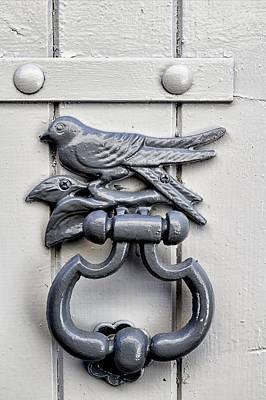 Bird Door Knocker Art Print by Georgia Fowler