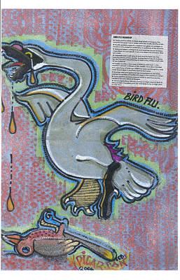 Bird Flu Art Print