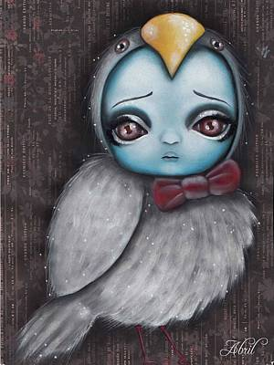 Painting - Bird Girl #3 by Abril Andrade Griffith