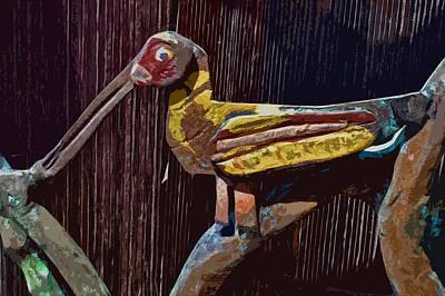 Photograph - Bird Hiding by Bill Owen