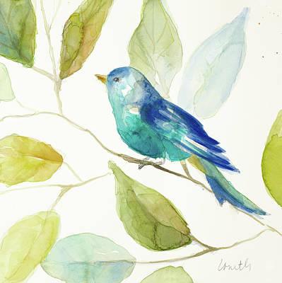 Bird In A Tree I Art Print