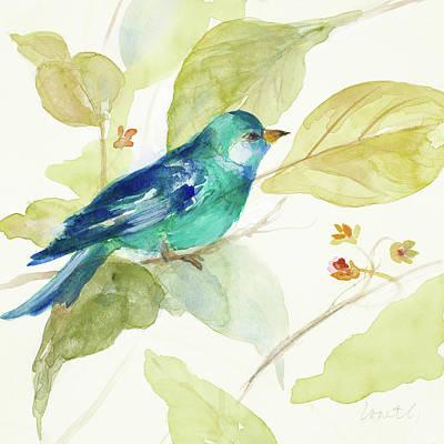 Bird In A Tree II Art Print
