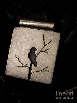 Jewelry - Bird In Branch by Patricia  Tierney