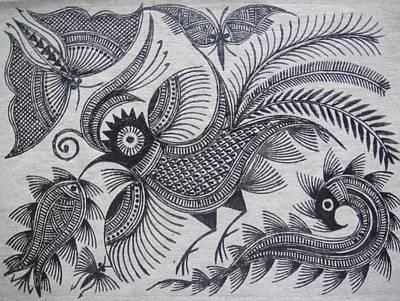 Bird In Flight Original by Stephen Kayode
