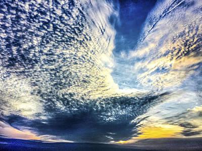 Photograph - Bird In Flight Sunrise Sunset  Image Art by Jo Ann Tomaselli