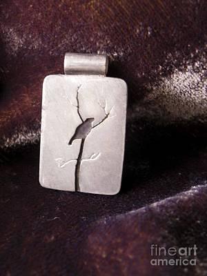 Jewelry - Bird In Tree by Patricia  Tierney