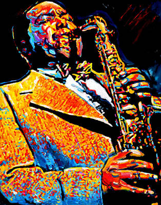 Bird Lives-charlie Parker Art Print