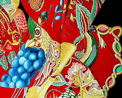 Bird N Paradise Art Print