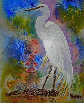 Bird Of Beauty Art Print