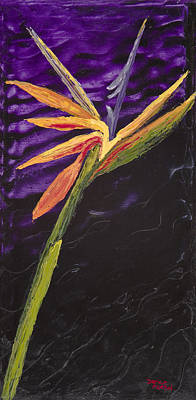 Painting - Bird Of Paradise by Darice Machel McGuire