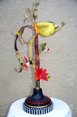 Sculpture - Bird Of Paradise by Deborah Smith