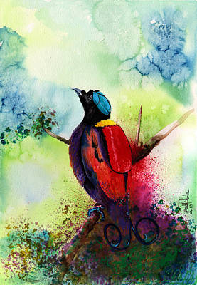 Bird Of Paradise  Print by Isabel Salvador