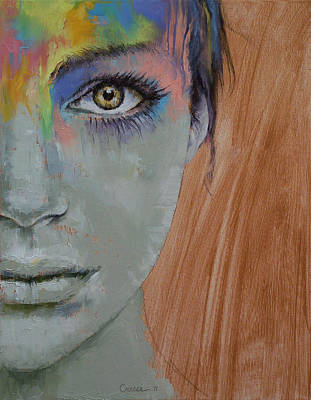 Make-up Painting - Bird Of Paradise by Michael Creese