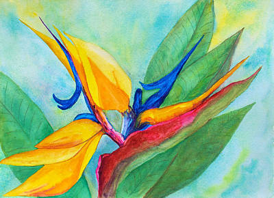 Painting - Bird Of Paradise Naples by Patricia Beebe