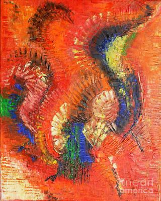 Painting - Bird Of Paradise by Belinda Capol
