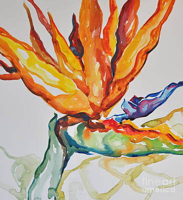 Painting - Bird Of Paradise by Roger Parent