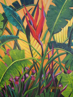 Bird Of Paradise Original by Rosie Sherman