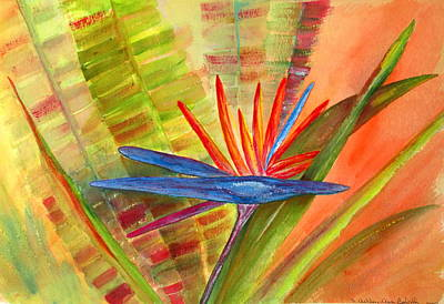 Painting - Bird Of Paradise by Ashley Goforth