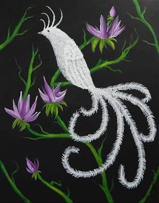 Birds Painting - Bird Of Paradise by Tanya Provines