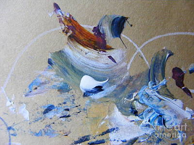 Painting - Bird Song by Nancy Kane Chapman