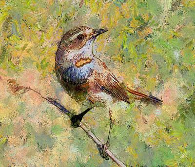 House Pet Digital Art - Bird by Yury Malkov