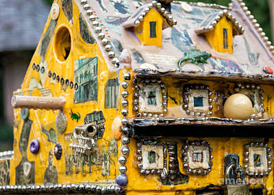 Decoupage Photograph - Birdhouse In Nola by Kathleen K Parker