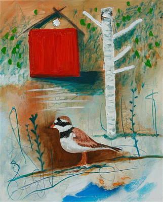 Painting - Birdland by Dan Koon