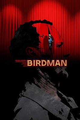 Emma Digital Art - Birdman by Edgar Ascensao