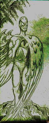 Birdman Art Print by Jazzboy
