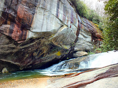 Photograph - Birdrock Waterfall In Spring by Duane McCullough