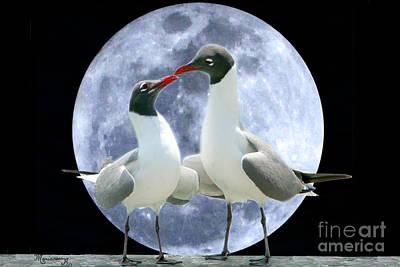 Birds Do It... Art Print by Mariarosa Rockefeller