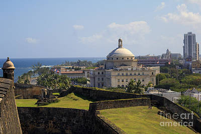 Photograph - Birds Eye View Of El Morro by Mary Lou Chmura