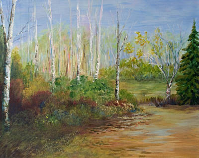 Painting - Birds Hill Park by Joanne Smoley