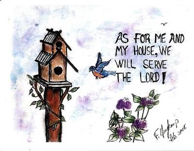 Pastel - Bird's Home by Francine Heykoop