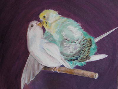 Painting - Birds In Love by Lisa Boyd