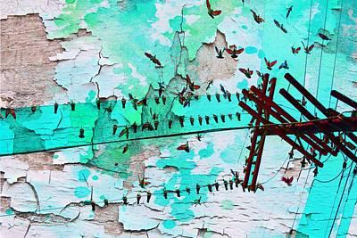 Irena Orlov Painting - Birds Melody by Irena Orlov