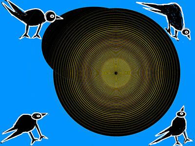 Birds New World Art Print by Anand Swaroop Manchiraju