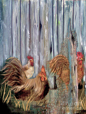 Painting - Birds Of A Feather by Sharon Burger