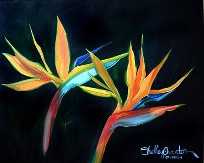 Painting - Birds Of Paradise by Shelley Overton