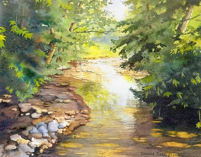 Painting - Bird's Trail Creek by Brenda Beck Fisher