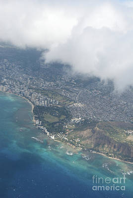 Photograph - Bird's View Of Waikiki by Jackie Farnsworth