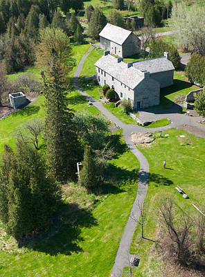 Aerial Photograph - Birdseye View Pinhey's Point Ontario by Rob Huntley