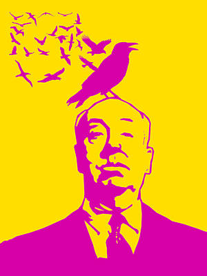 Hitchcock Digital Art - Birdy Poster 3 by Naxart Studio