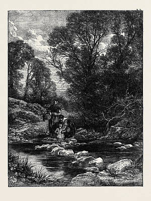 Birkett Fosters Pictures Of English Landscape Print by English School