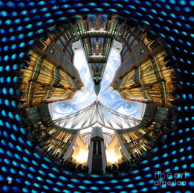 Mound Mixed Media - Birmingham Bull Ring Eyes In The Sky by Neil Finnemore