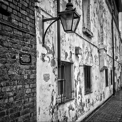 Old Town Digital Art - Birmingham Canal Gas Street 2 by Yury Malkov