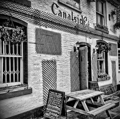 Old Town Digital Art - Birmingham Canal Gas Street 6 by Yury Malkov
