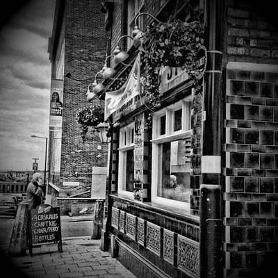 Old Town Digital Art - Birmingham City View 2 by Yury Malkov