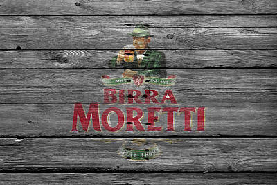 Hop Photograph - Birra Moretti by Joe Hamilton